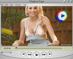 Playboy Yoga Video
