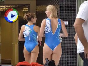 Sexy Sports Oops Videos