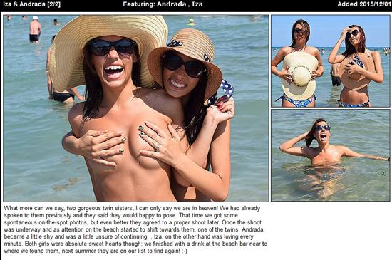 Girls having handbra fun on UGotItFlauntIt