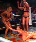 Jello Wrestling in Bikinis with Oops Moments