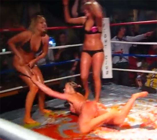 Jello wrestling naked