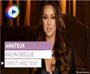 Amateur Girl Kalyn DeClue Posing for Playboy