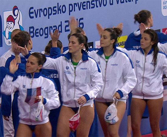 France V Italy at water polo - Euro 2016 Championship
