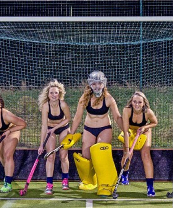 Nude women field hockey #10