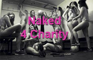 UK Students strip naked for charity