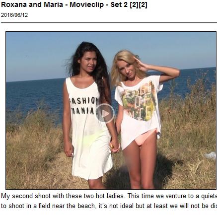 Roxana and Maria pose for UGotitFlauntIt