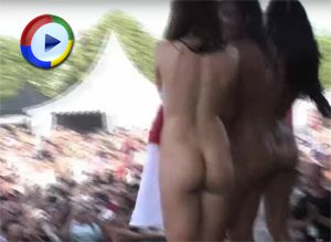 Girls strip naked on stage - The Fuel Girls