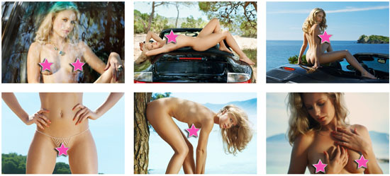 Beautiful blonde babe Lisa Maarseveen on Playboy