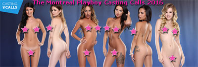 Montreal Playboy Casting Call