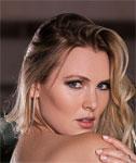 Blonde Playboy Cybergirl Kash Jones Gets Nude For Playboy