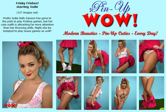 Jodie Gasson teases for Pinup WOW
