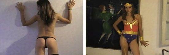Argentina model Nancy poses for Gaston's Girls