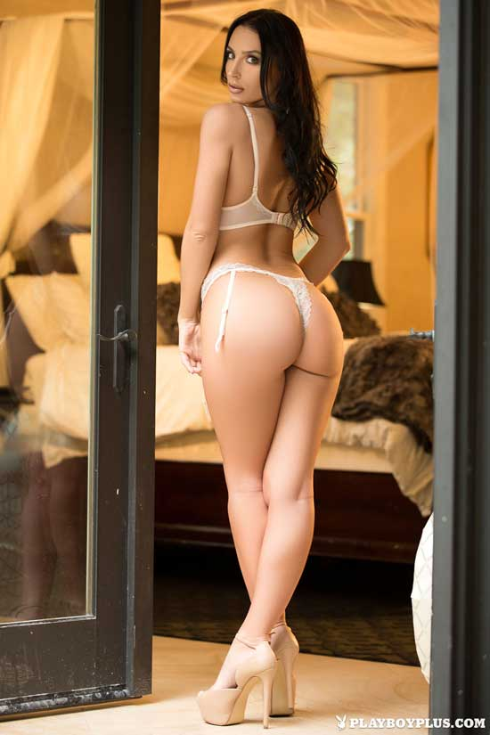 Kendar Cantara shows off her hot ass for Playboy
