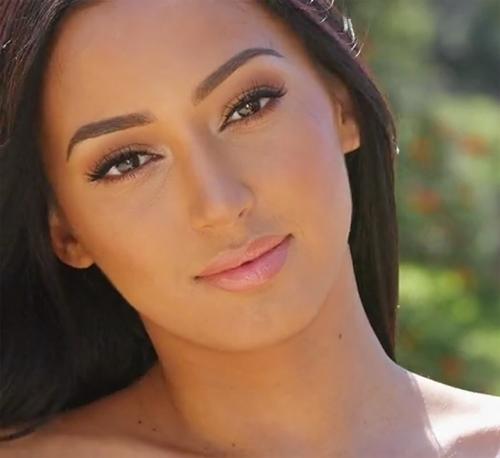 Beautiful girl at a Playboy casting call - Alexandra Young