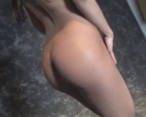 April is fully naked at the Chicago 2011 Playboy castings