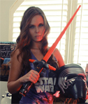 Bailey Knox Star Wars Strip Tease – Kylo Ren