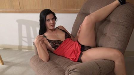 Maria teasing in lingerie on Northwest Beauties