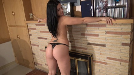 Maria shows off her perfect ass in a thong on Northwest Beauties