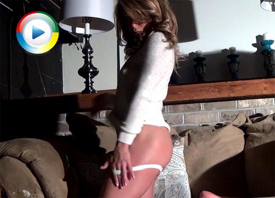 Meet Madden pulls down her panties