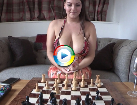 Cherry has a tactic for distracting you at chess