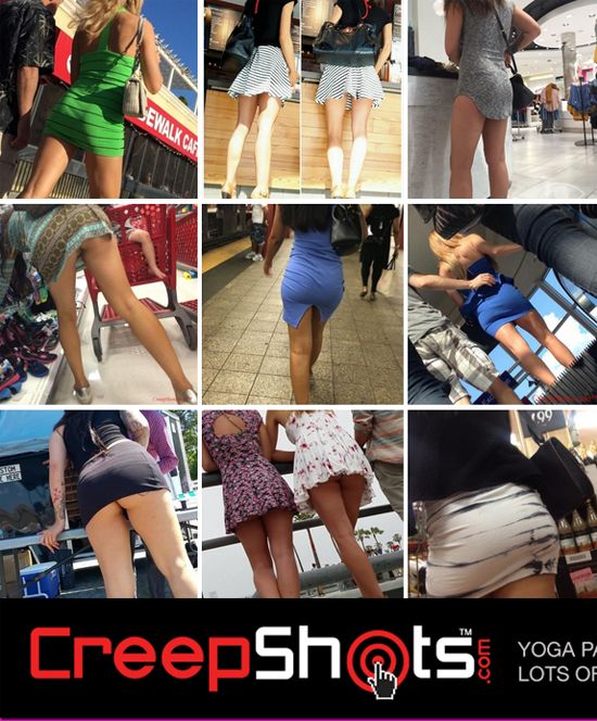 Creep Shots - Upskirts, Bikinis, Oops and Yoga Pants