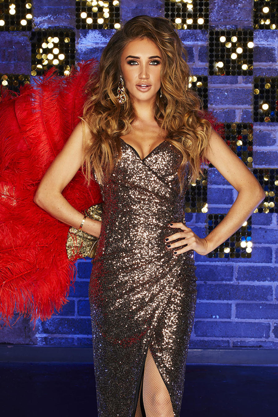 Celebrity Megan McKenna to strip full monty on British television