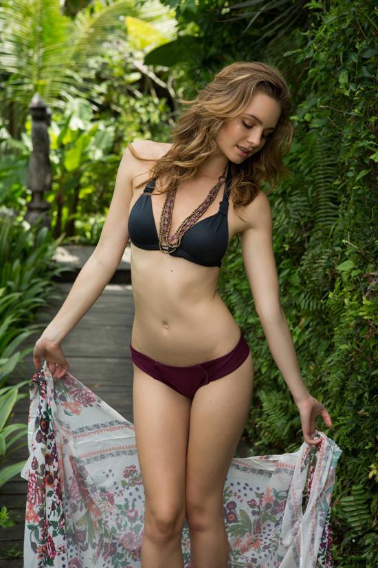 Evelyn Sommer in a bikini