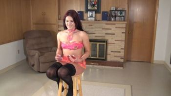 New model Beth in stockings on Northwest Beauties
