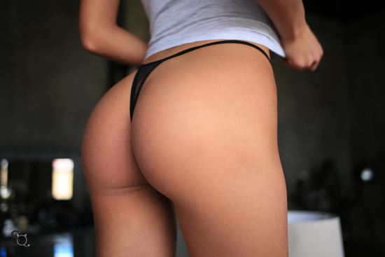 Hot ass in a thong