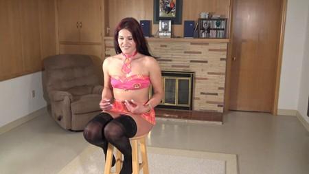 New model Beth in stockings on Northwest Beauties