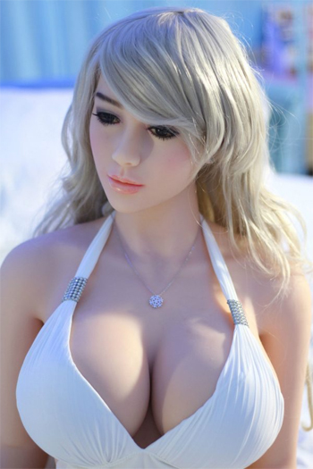 Realistic silicone sex dolls (blonde)