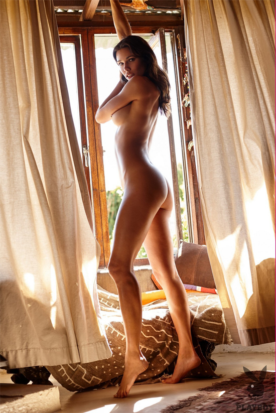 Katerina Giannoglou gets naked for Playboy
