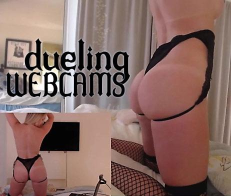 The Brooke Marks Dueling Webcams Zipset