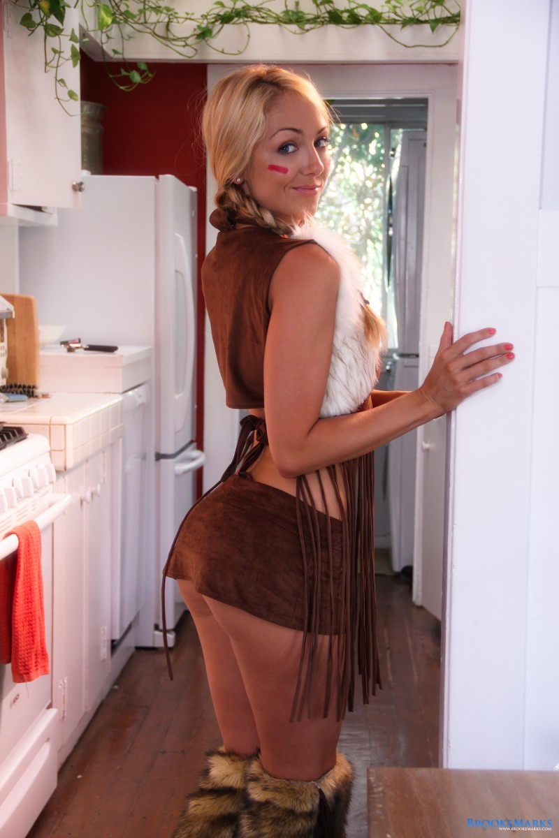 Brooke Marks looking sexy as an indian girl