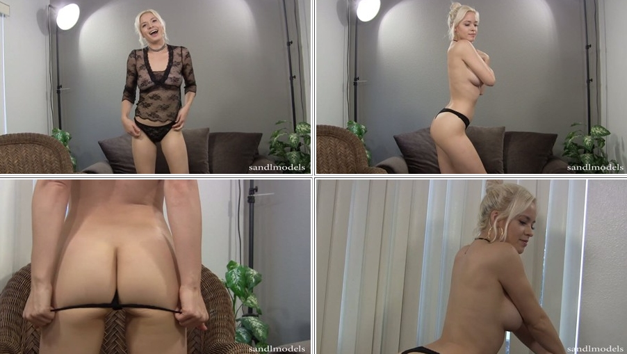 Natalia goes topless in her sexy video