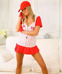 Baseball Girl Upskirt Fun