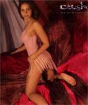 Classy Cleodora has Forgotten her Panties