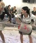VIDEO: Sexy Girls Wrestling in Skirts