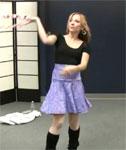 VIDEO: Talented Hula Hoop Girl Showing Off