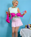 Lucy Wins New Underwear at a Lucky Dip